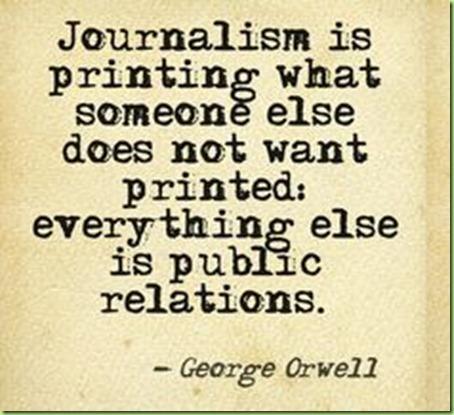 journalism quote