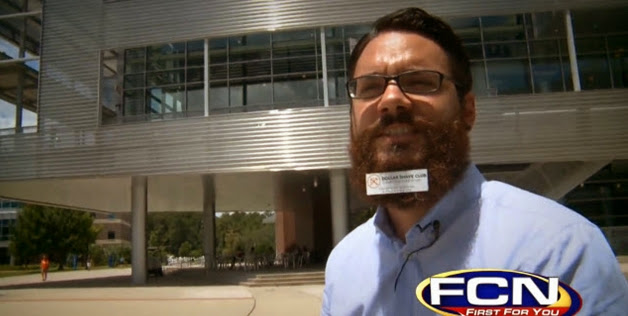 Jack Twachtman, publicidad en barba