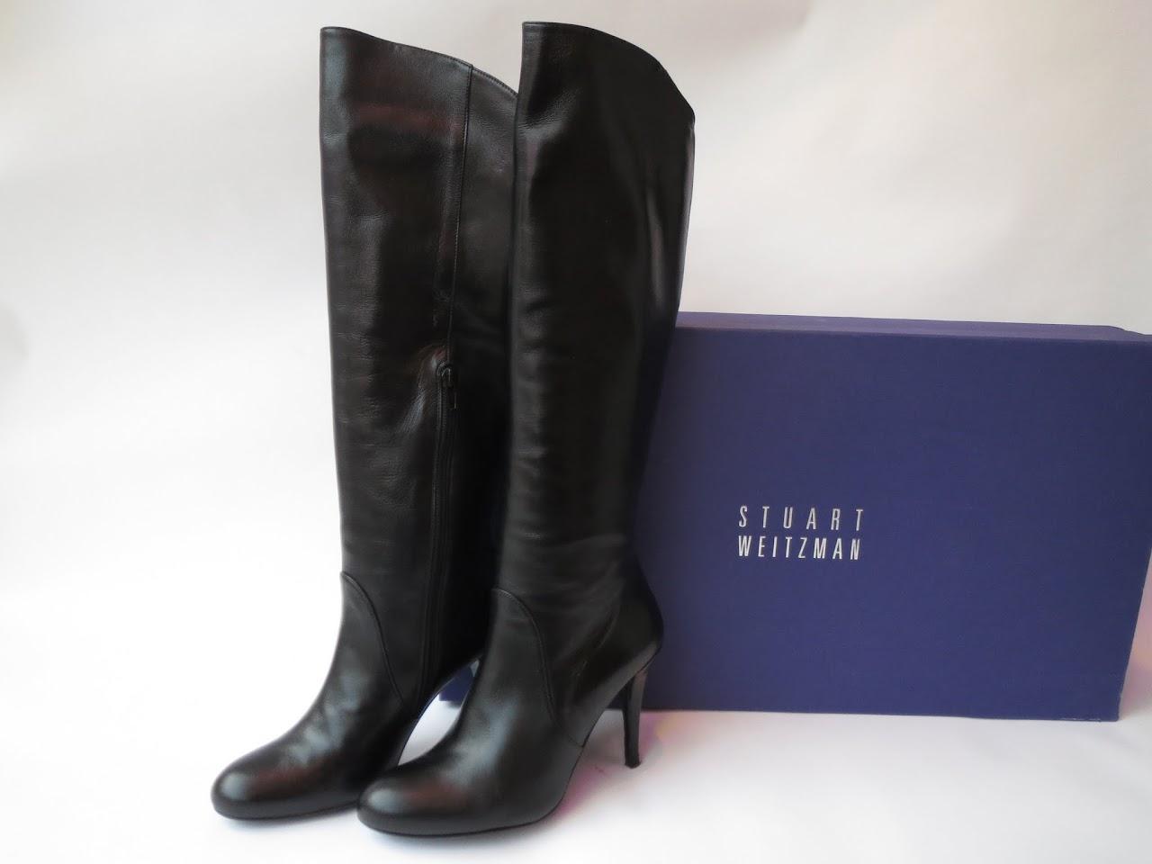 Stuart Weitzman Leather Calf Boots