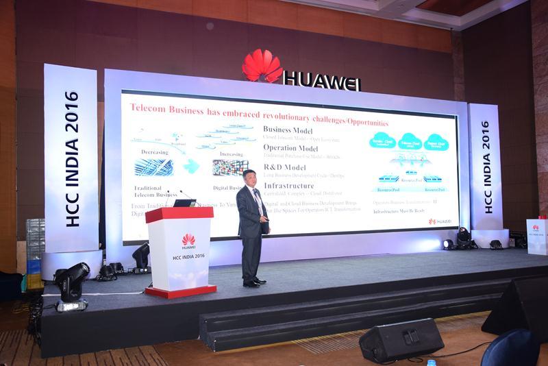 Huawei Cloud Congress India 2016 - 18