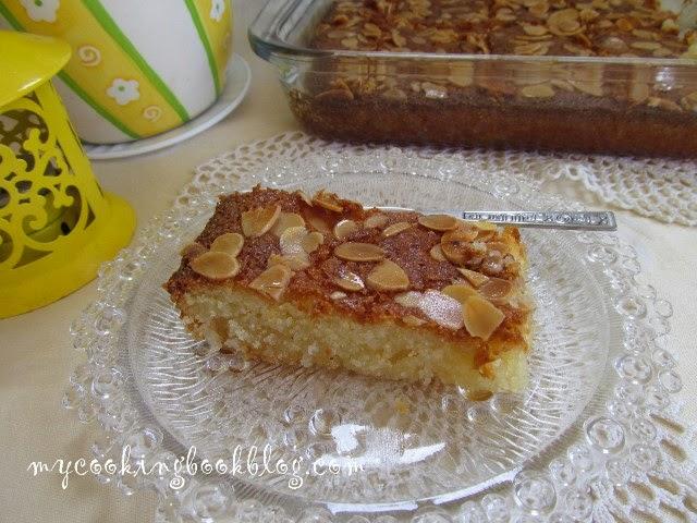Сиропиран сладкиш с грис Самали (Σάμαλι) или Кало прама (Καλό Πράμα)