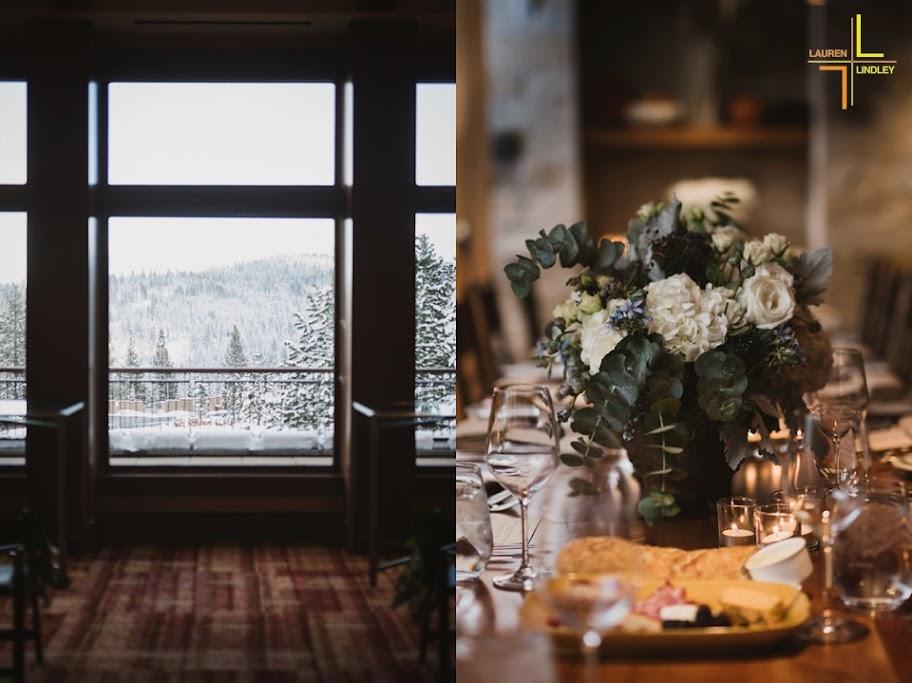 Northstar Winter Wedding