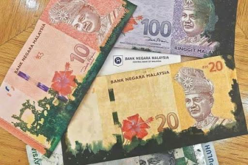 Kesan dakwat pada duit dari mesin ATM