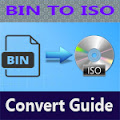 How to convert BIN files to ISO using power iso