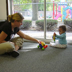 Quality is: providing consistent and knowledgeable caregivers who interact with our infants in developmentally appropriate activities.