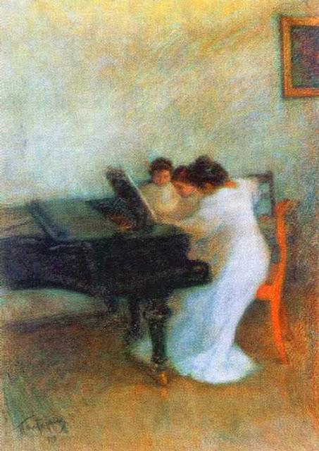 Leonid Pasternak - Music Lesson