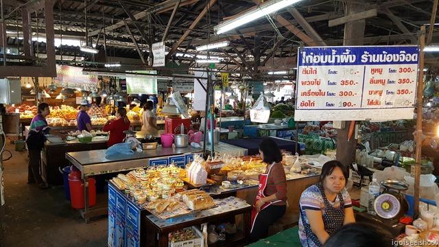 local Thai produce market