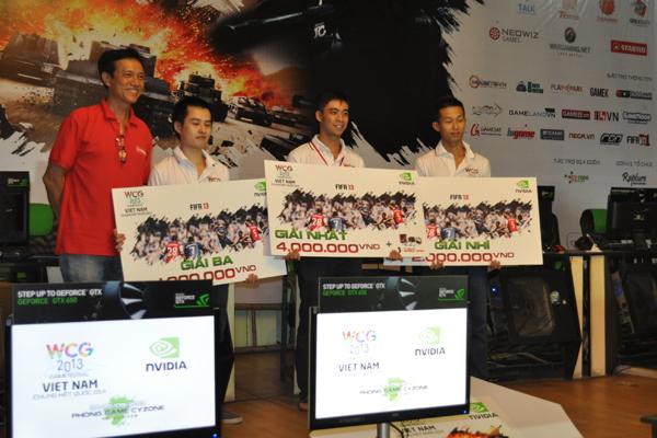 WCG 2013: Kết quả vòng chung kết quốc gia 1
