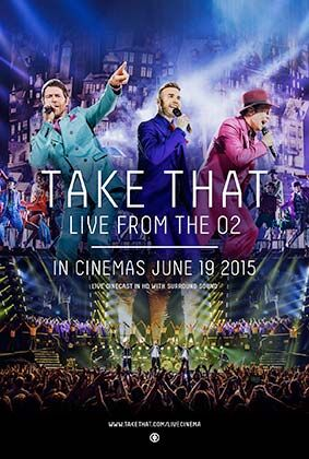 Los fans de Take that podrán ver su concierto en directo en 28 salas de Yelmo cines