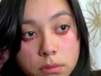 La mujer que llora sangre