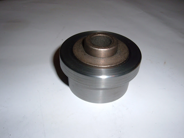 PBA-1 Pilot bushing adapter for 1953-1963 Nailheads. Center of pilot is .593 but can be bored larger. 50.00