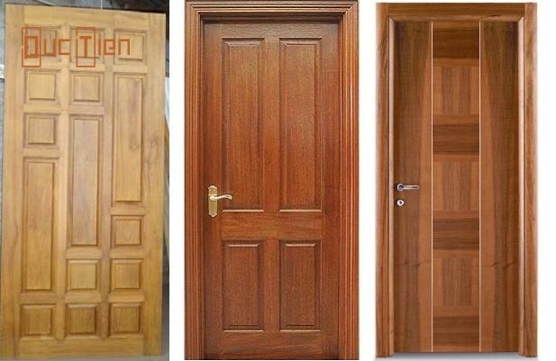 Mẫu cửa gỗ thông phòng 1 cánh