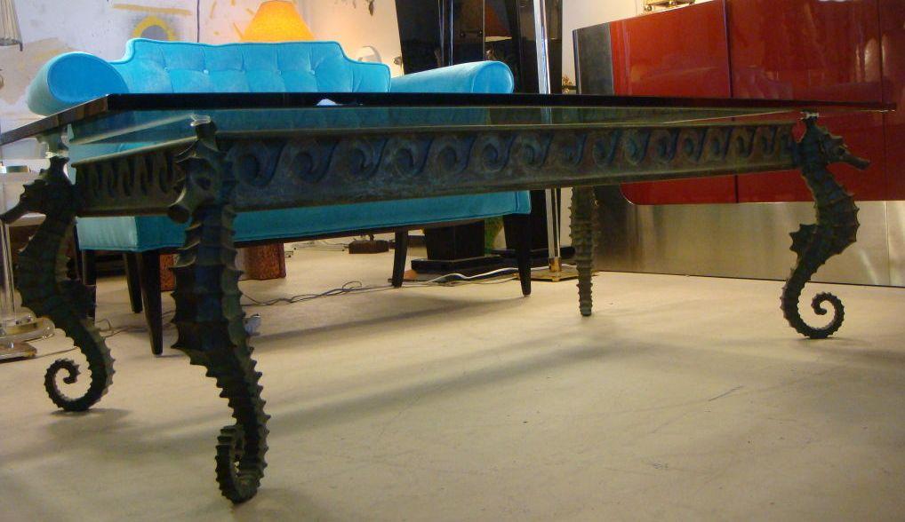 Duchess Fare Seahorse Chic - Seahorse coffee table