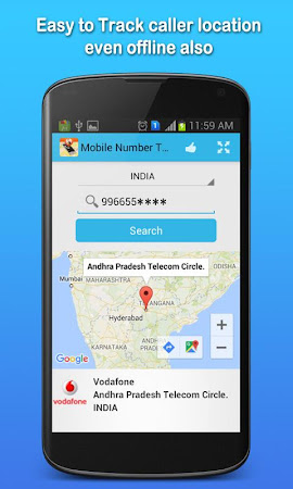 Mobile Number Tracker 1.7 screenshot 555402