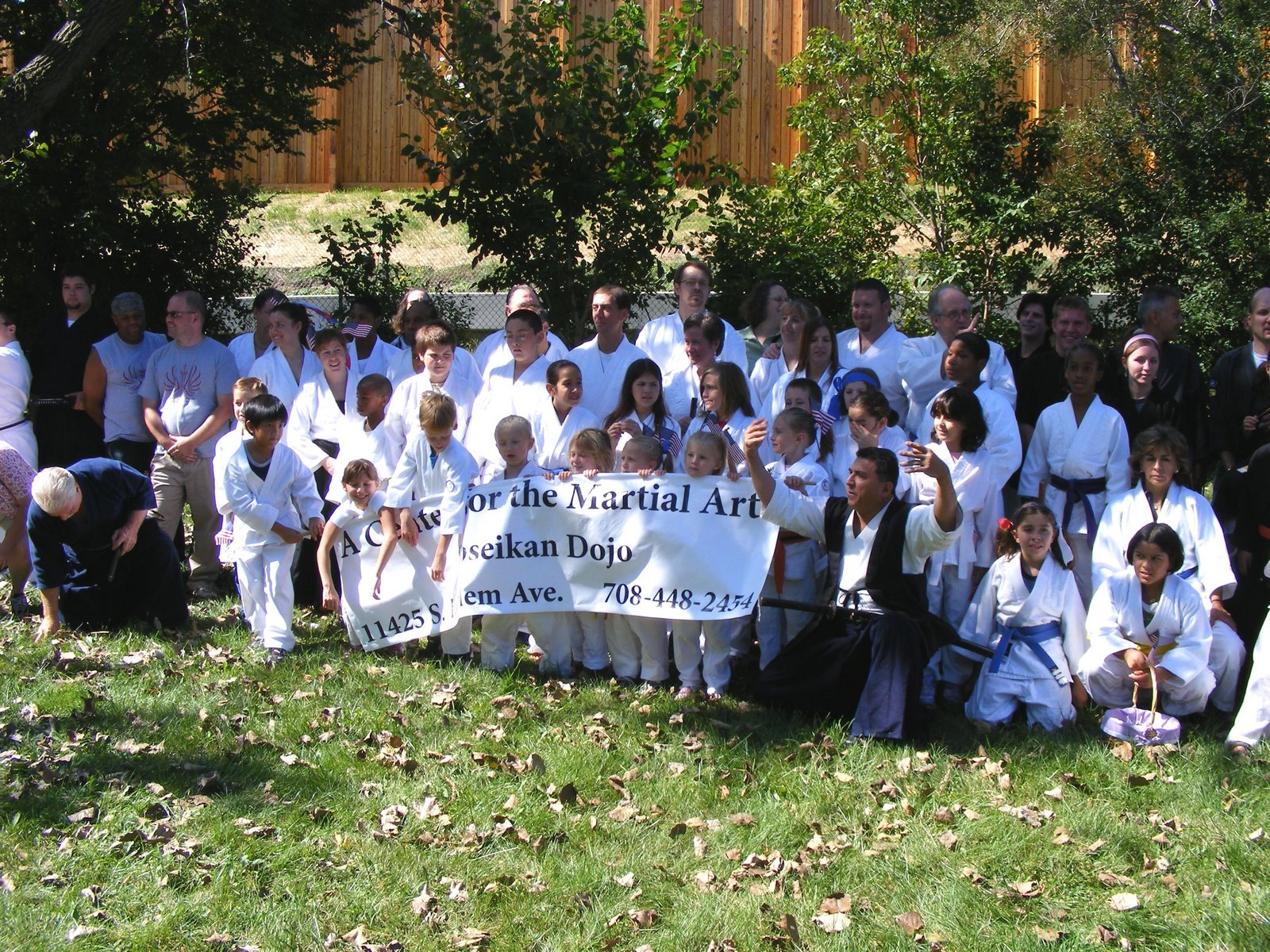 On September 11th, 12th and 13th, A Center For The Martial Arts participated in the Worth Days Parade and martial arts demonstrations