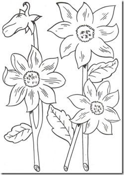 11flores primavera colorear  (51)