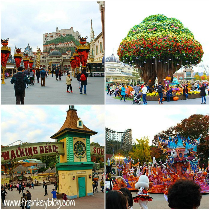 Keramaian Everland, Pohon Trademark Everland, Walking Dead Area, Disney Show?
