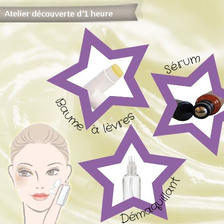 Atelier découverte – 3 produits