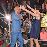 OIC - ENTSIMAGES.COM - Simon Gross and Emma Willis at the Big Brother 2015 - Ninth eviction London June 26th 2015  Photo Mobis Photos/OIC 0203 174 1069