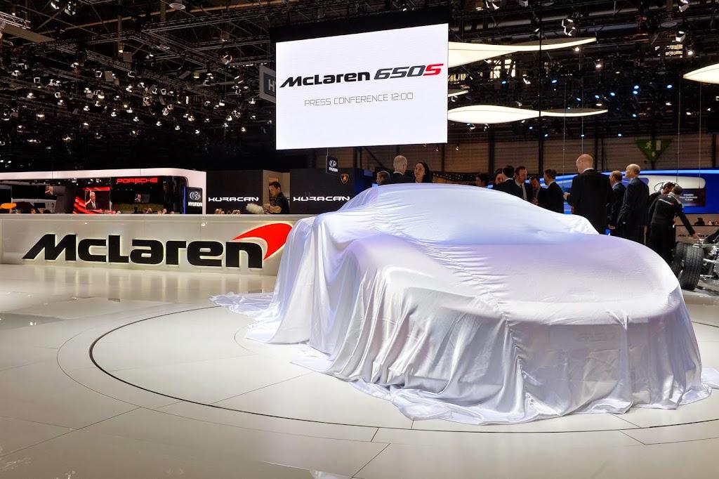 McLaren 650S Spider Geneva Motor Show 2