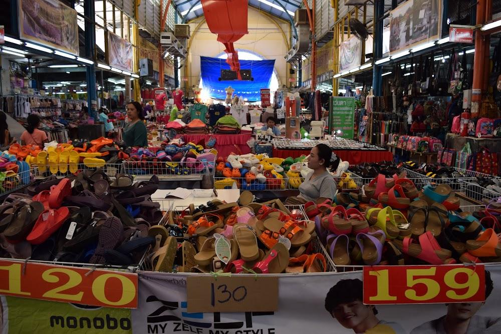 wandering through an interesting indoor market
