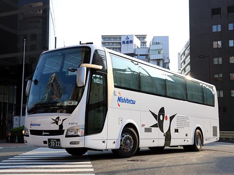 西日本鉄道「ペガサス号」 4874 20160514