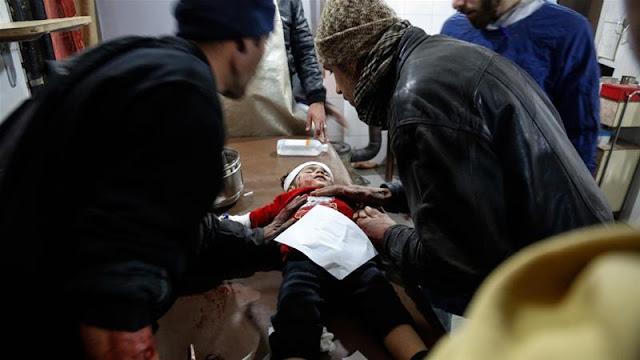 Syria: 77 civilians killed in regime bombardment