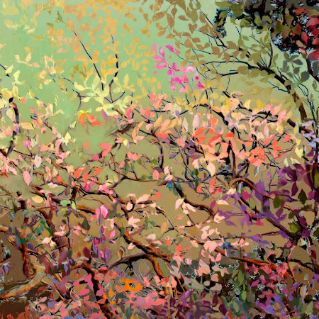 """The """"Plum Blossoms"""" piece from the """"2010"""" collection"""