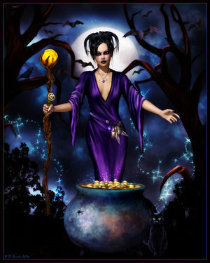 Pagan Witch, Pretty Witches