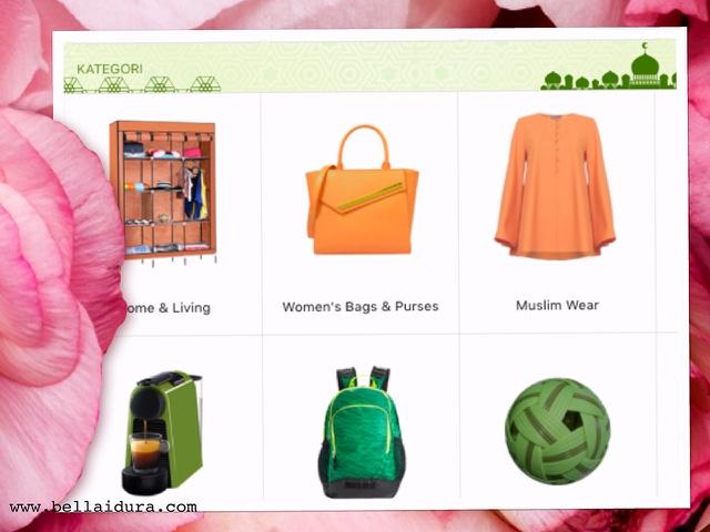 shopee, shopping raya, pakaian murah