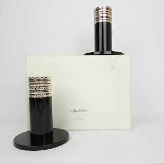 Vera Wang New Silver Candle Holders