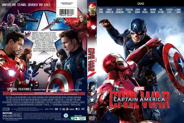 Captain America: Civil War – Latino, Inglés