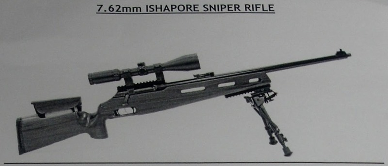 Ishapore Sniper Rifle [India]