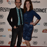 OIC - ENTSIMAGES.COM - Kevin Sebastian and Elizabeth Ness at the Raindance Opening Night Gala at the Vue in Leicester Square, London on the 23rd September 2015. Photo Mobis Photos/OIC 0203 174 1069