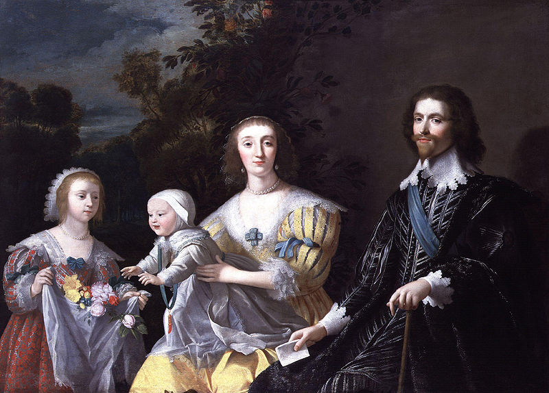 Gerrit van Honthorst - The Duke of Buckingham and his Family