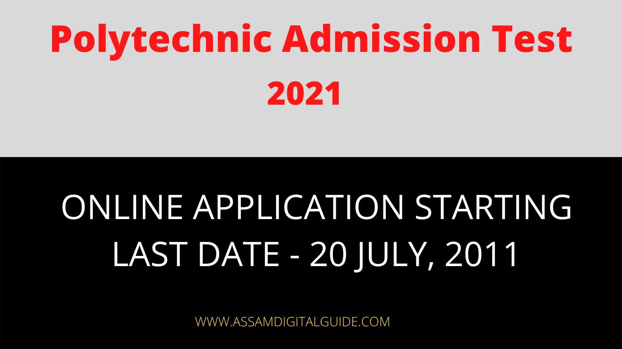 Polytechnic Admission Test