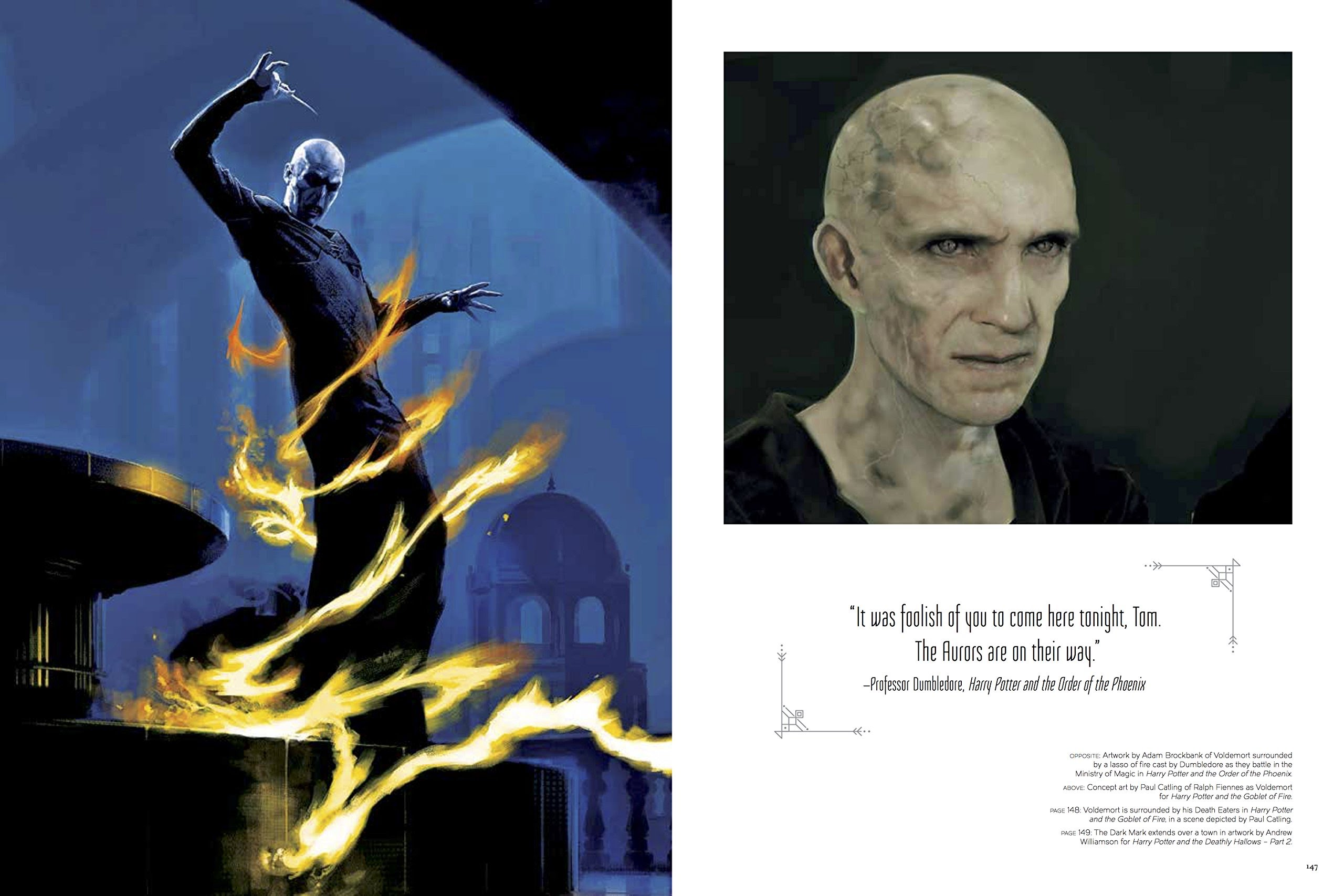 The Art of Harry Potter: Voldemort
