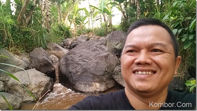 Lokasi di Kali Kuning yang disebut Grenjeng
