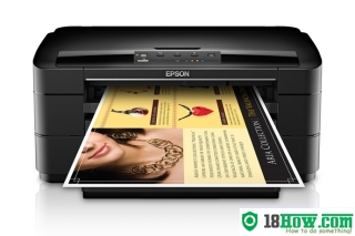 How to reset flashing lights for Epson WorkForce WF-7010 printer
