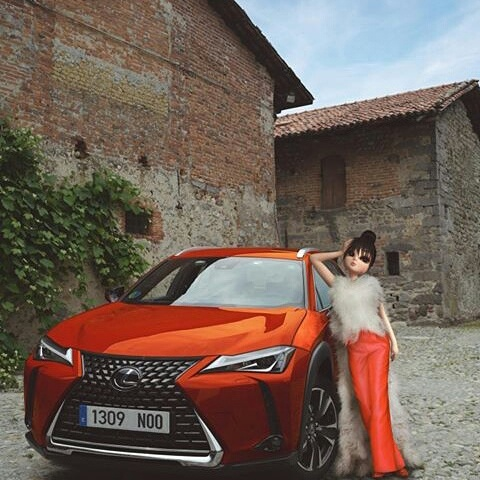 Paris Doll Step Out For With A Lexus Photoshot