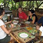 Lunch at Mimpi Indah resort, Bangka Island