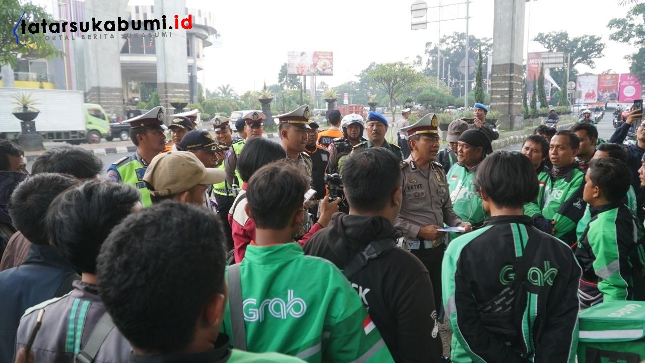 Sosialisasi larangan parkir di sejumlah wilayah Cibinong Bogor
