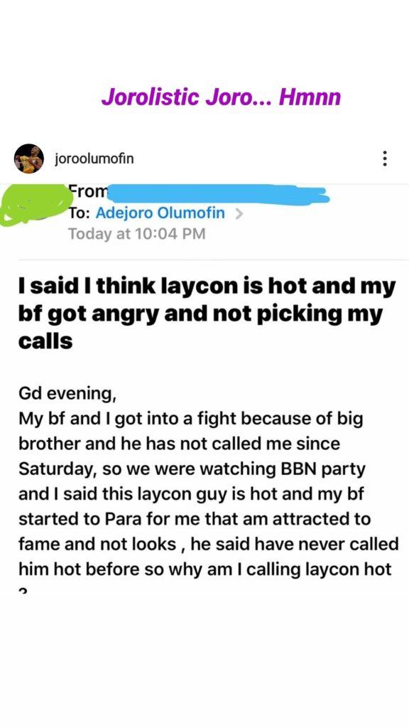 Laycon Bbnaija