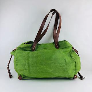 Miu Miu Linen Tote Bag