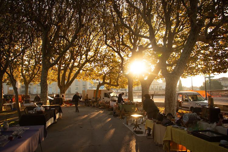 Morning market, Montpellier