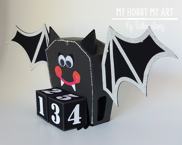 Halloween calendar, Bat, SnapDragon Snippets - Ruthie Lopez - My Hobby My Art 2