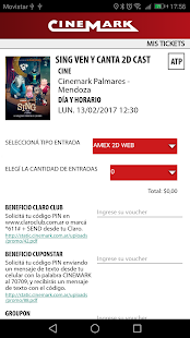 CINEMARK ARGENTINA- screenshot thumbnail
