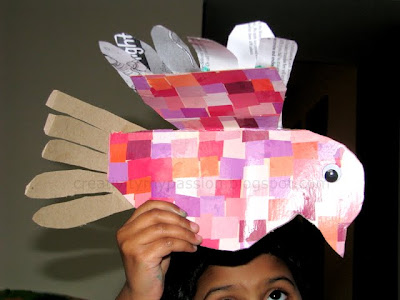 Recycle/upcycle Tissue Box into a bird