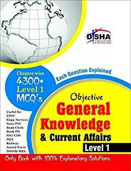 Objective General Knowledge & Current Affairs Disha Publication Pdf