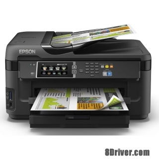 download Epson WorkForce WF-7610DWF printer's driver